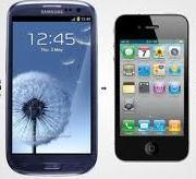 iPhone 5 and Samsung Galaxy SIII