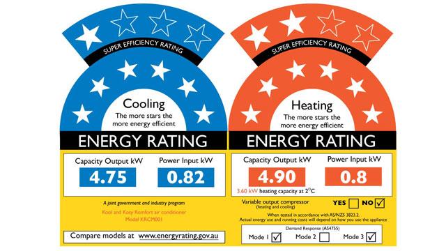 Energy Efficiency Star Labels