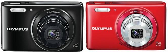Olympus Stylus VG 165 and Olympus Stylus VG 180