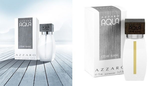 Aqua Cedre Blanc by Azzaro