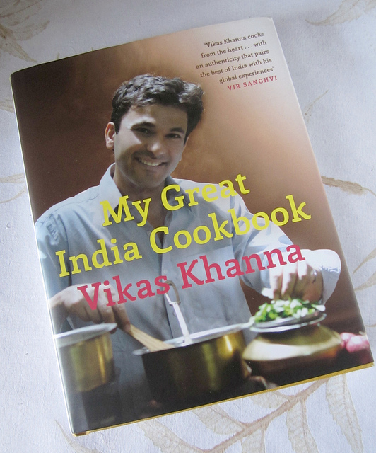 My Great India Cookbook by Vikas Khanna