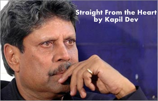 Straight From the Heart by Kapil Dev