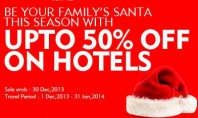 Christmas Offer – Up to 50% off on Hotels at Expedia