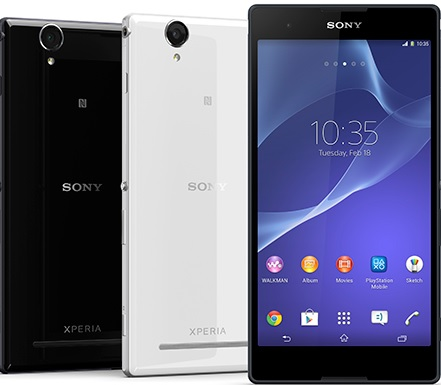 Xperia T2 Ultra phablet sports