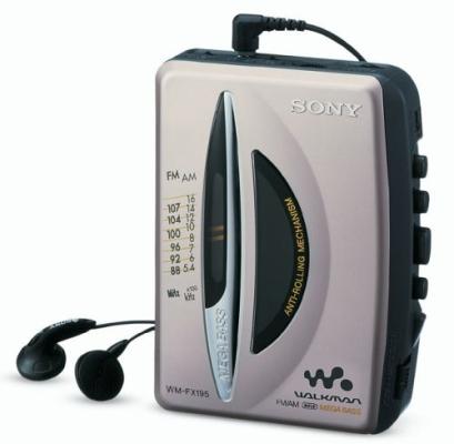Sony-WM-FX195-Cassete