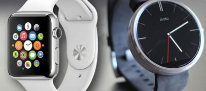 The Ultimate Battle – Apple Watch Vs Moto 360