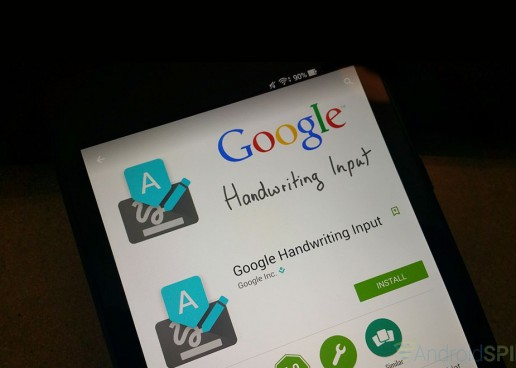 Erase Out Typing Errors with Google Handwriting Input App