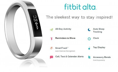 Fitbit Puts Health And Fashion Together With The New 'Alta'