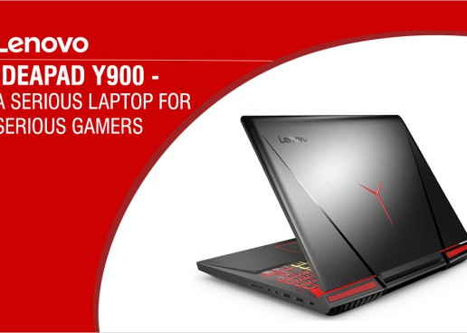"""LENOVO'S LATEST """"IDEA"""" IS THE Y900 GAMING LAPTOP"""