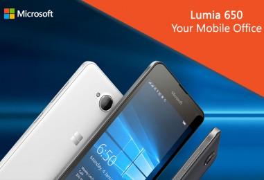 Your business companion is here – Microsoft Lumia 650 Dual SIM