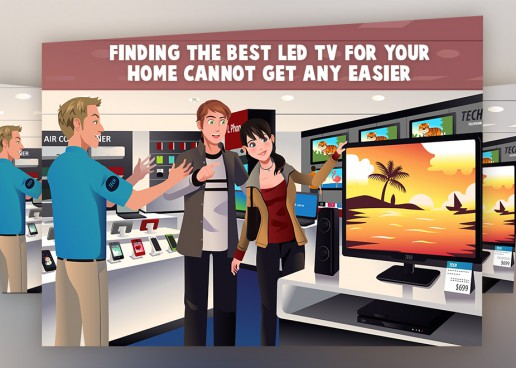 HANDY TIPS ON HOW NOT TO LOOK LIKE A FOOL WHEN BUYING AN LED TV