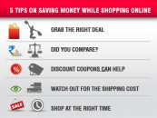 Top 5 Tips on Saving Money While Shopping Online