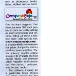 News Brief on CompareRaja in Business India – India's Leading Business Magazine