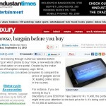 CompareRaja Covered by Hindustan Times