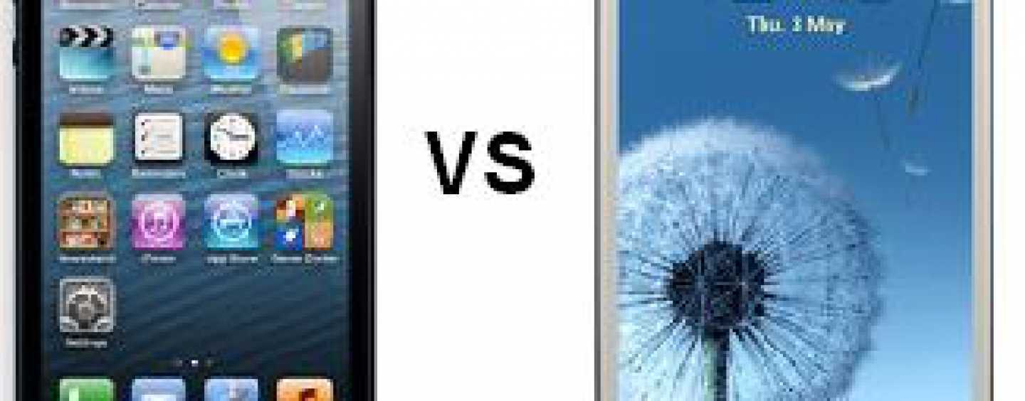 Apple iPhone 5 or Samsung Galaxy SIII? What's Your Pick?