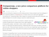 Plugged.in covers CompareRaja – A Valuable Price Comparison Platform for Indian Shoppers