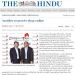 CompareRaja Covered By 'The Hindu' – Another Giant Leap