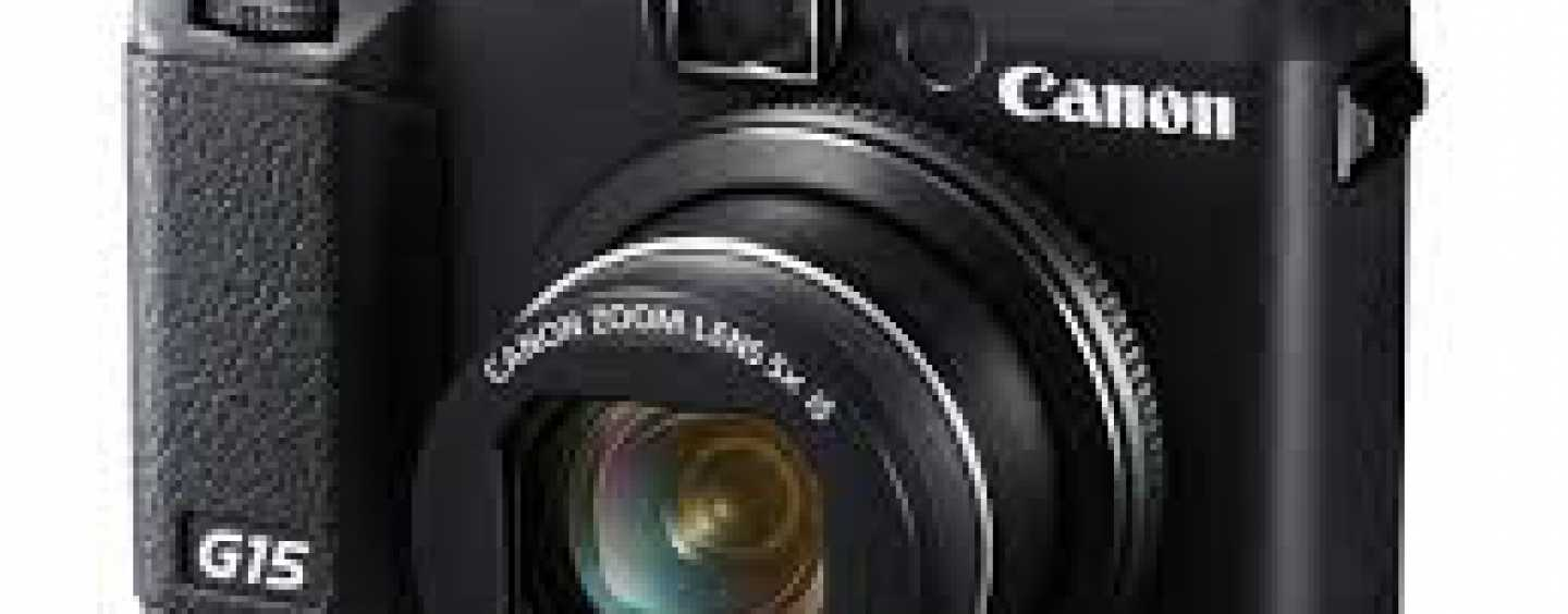 Canon Powershot G15 – Photography Now A Lot More Exciting