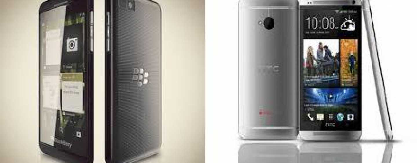 BlackBerry Z10 Vs HTC One. Who's The Winner?