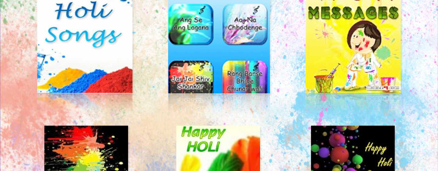 Gearing Up For Holi? Let special Holi Apps Add More Zing To Your Celebrations!!