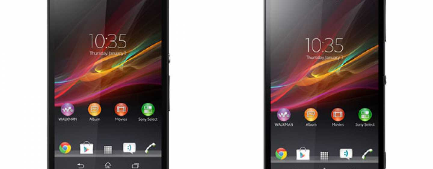 Sony Xperia Z and ZL prices announced