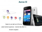 Aurus 2 – The First Jelly Bean Dual-SIM offering from Idea