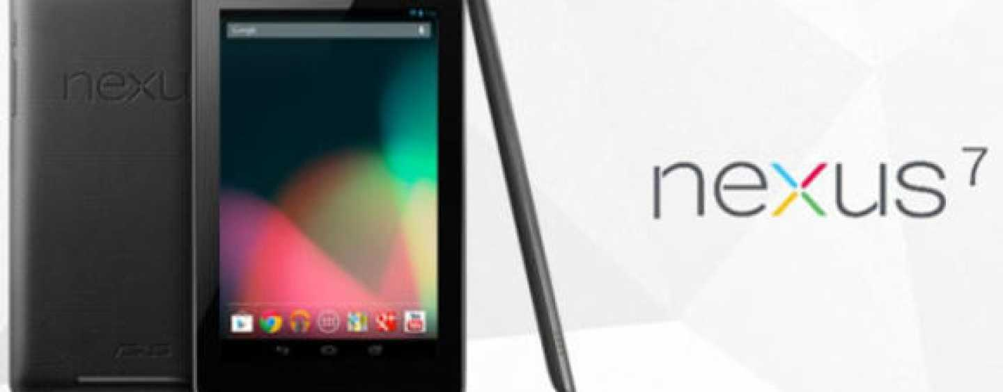 Affordably priced Google Nexus 7 with 3G, 32GB storage – Formally launched in India