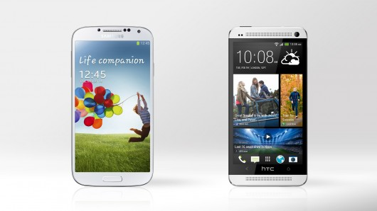 Samsung Galaxy SIV and HTC One