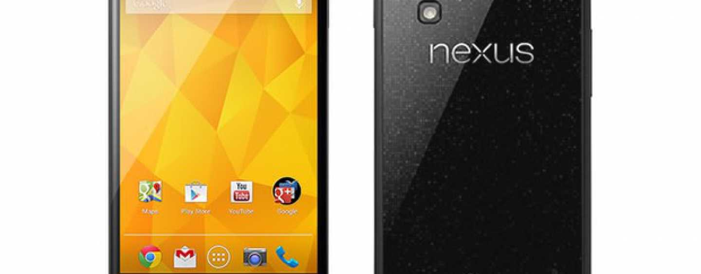 Google Nexus 4 Launches in India with a Price Tag of Rs. 25999