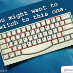 Switch over to Dvorak Keyboard – A Better Alternative to the much preferred QWERTY keyboard!!