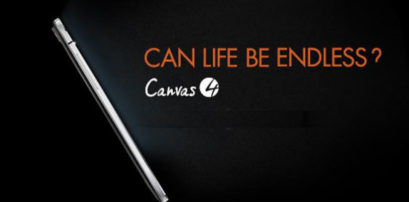 Micromax Canvas 4 – Latest Addition to the Canvas Family