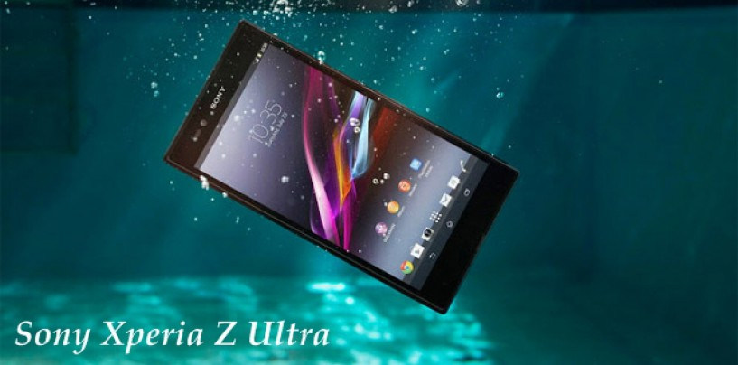 Sony Xperia Z Ultra – Well Equipped Mega Size Phone or Tablet