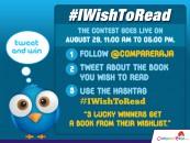 Announcing CompareRaja's IwishToRead Twitter Contest