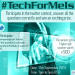 CompareRaja – Announcing yet another Twitter contest #TechForMeIs