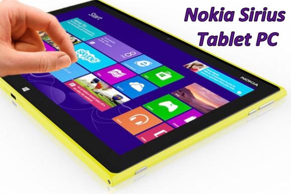 Nokia Sirius Tablet PC