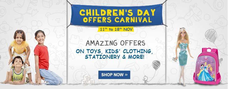 Children's Day Carnival at Flipkart