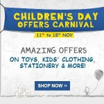 Children's Day Carnival at Flipkart