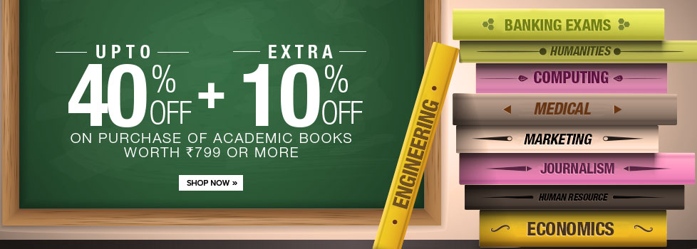 Student's Special Offer – Up to 40% + Extra 10% off on Academic Books only at Flipkart