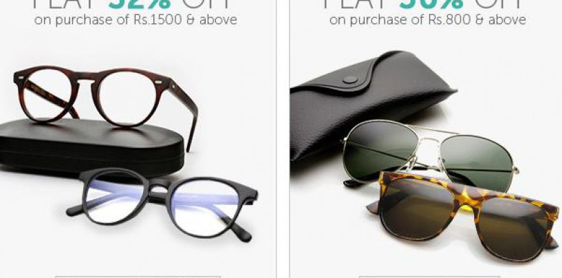 Great Discount Deals and Shopping Offers on Eye Wear and Eye Glasses only at Lenskart