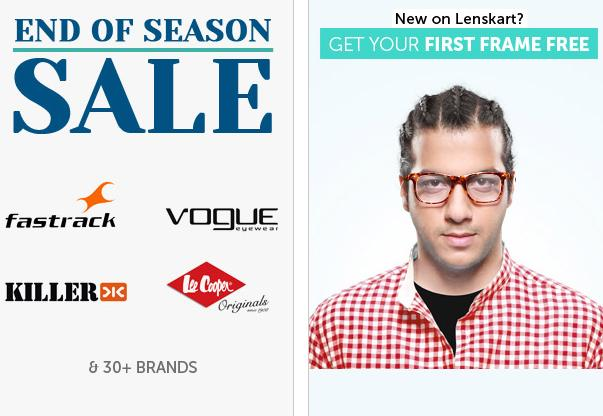 347e2095ed EOSS Sale at Lenskart – Unbelievable but true!! Shop as per your favorite  brand at Lenskart and enjoy discounts anywhere between 20% – 40% off on  your ...