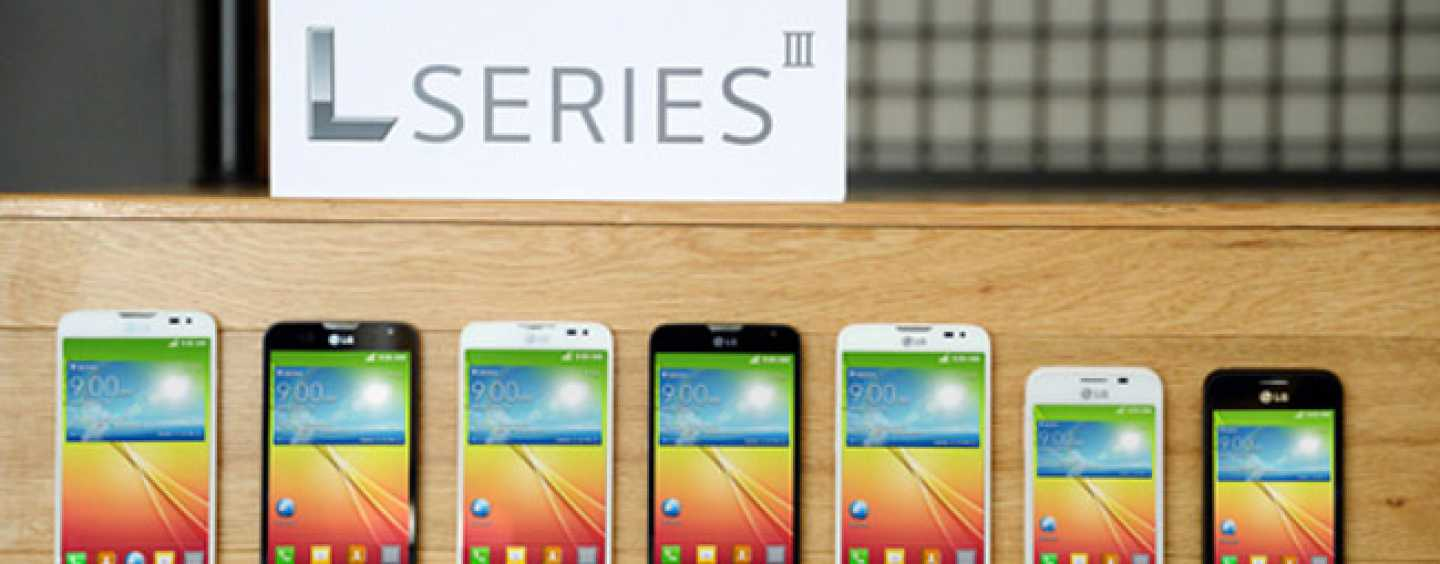 LG launches L Series trio of mid-range smartphones with Android 4.4 KitKat