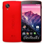 Red colour LG Nexus 5 Press Image Leaked Again Online