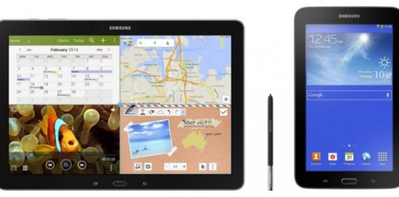 Samsung unveils Galaxy Tab3 Neo and Galaxy NotePRO tablets in India