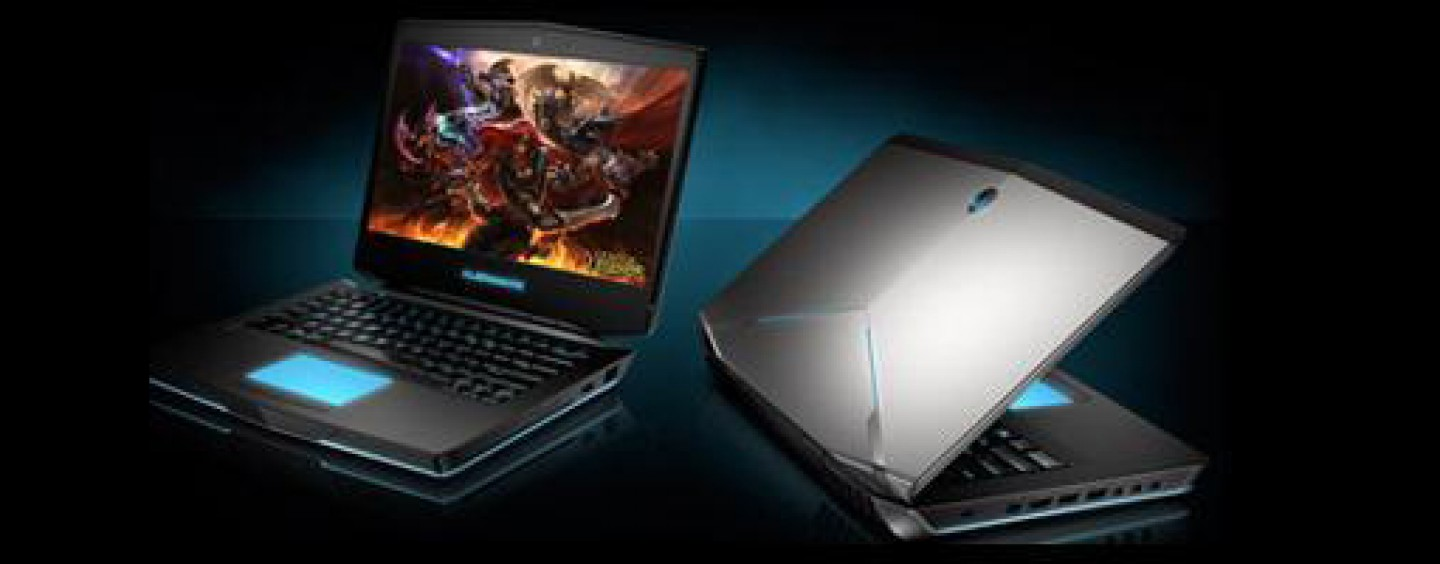Extreme, Hardcore and Dedicated Gaming with Alienware Laptops