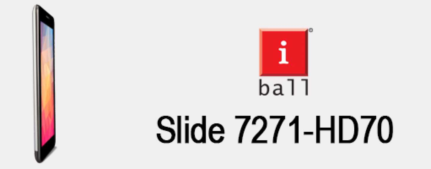 iBall launches Slide 7271-HD70 voice-calling tablet with 3G support from Rs. 7,499