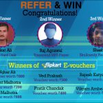 Refer and Win Contest Winners for the Month of March