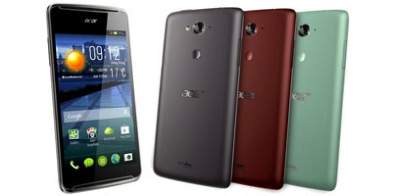 Acer to launch four new smartphones namely Liquid E600, E700, Liquid Z200 and Liquid X1