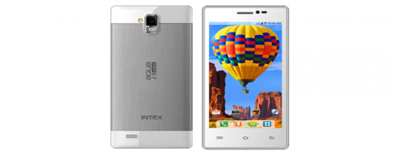 Intex launches Aqua i5 Mini smartphone with 4.5-inch display in India