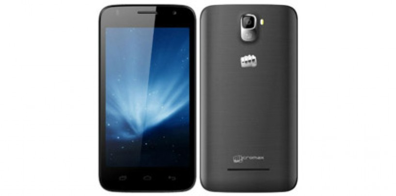 Micromax Canvas A105 smartphone with Android KitKat 4.4 appears online at Rs. 6,999