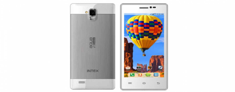 Intex Aqua i5 Mini dual-SIM smartphone with 4.5-inch display launched at Rs. 6850